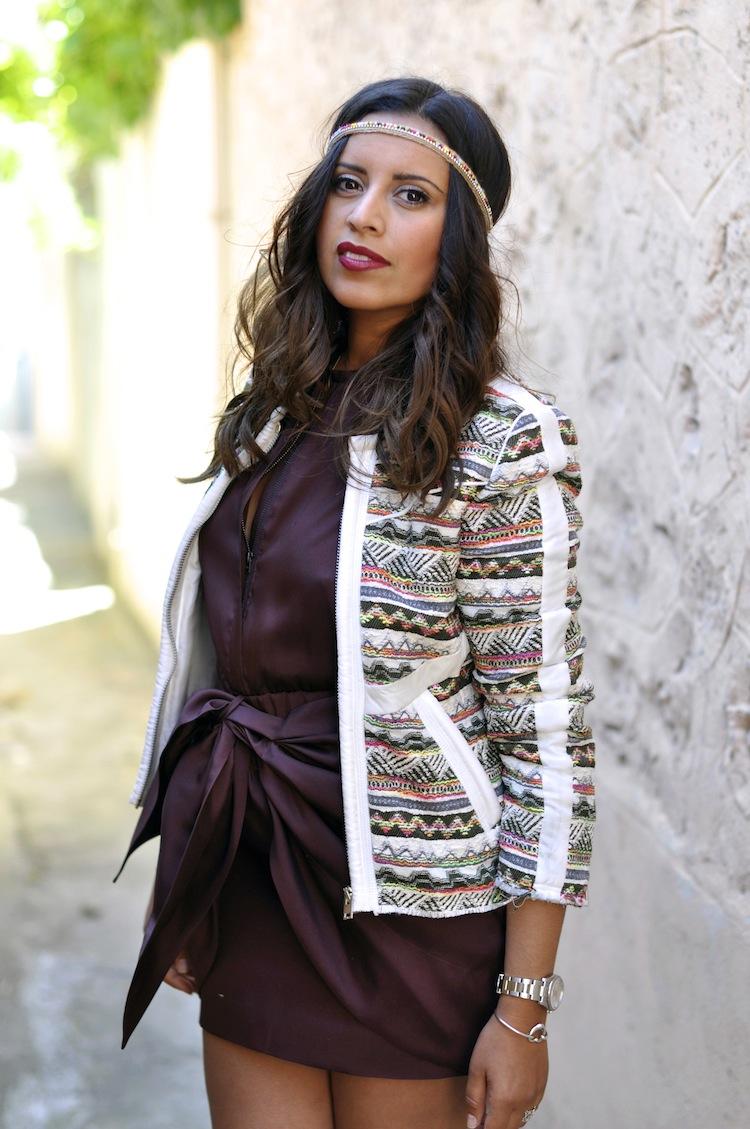 Luxe bohemian - LovaLinda - IsabelMarant Dress x Zara Headband