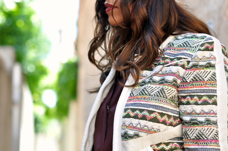 Luxe bohemian by LovaLinda - Iro Elomi Jacket x IsabelMarant Dress