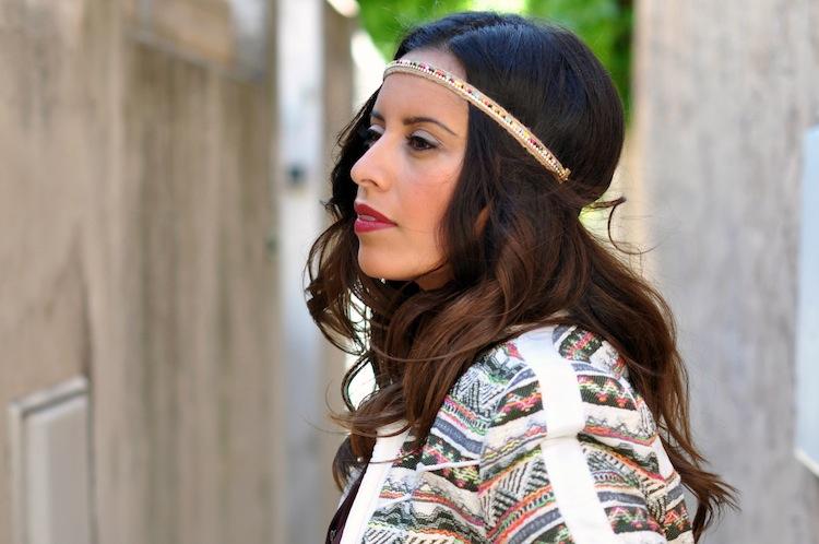 Luxe bohemian by LovaLinda - Iro Elomi Jacket x Zara Headband