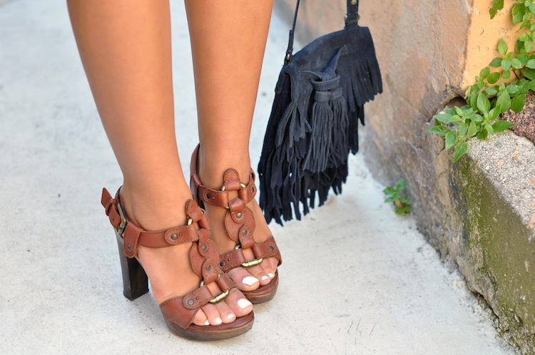Luxe bohemian by LovaLinda - Zara Bag x Lerre Sandals