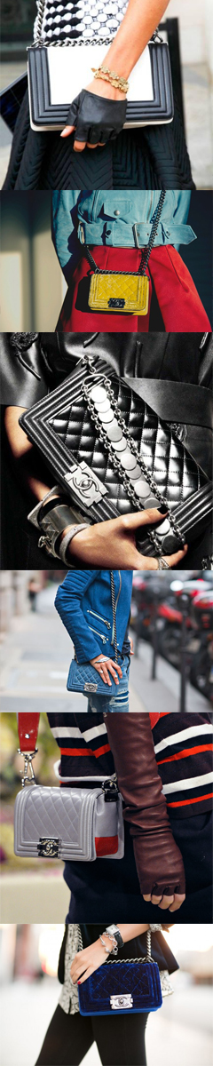 Chanel Boy - Collage by LovaLinda