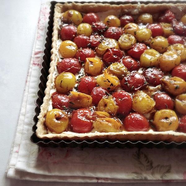 La tarte bicolore par Julia pour LovaLinda