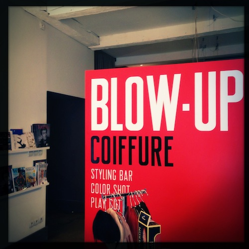 Le styling bar Blow-Up Coiffure Marseille x LovaLinda