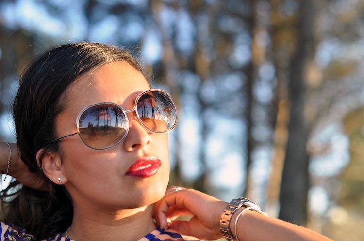 LovaLinda - Les rayures tango - Tom Ford Sunglasses
