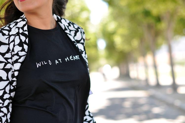 Lulu & Coeurs Sauvages - LovaLinda - Wild at heart T-shirt - Lulu&Co