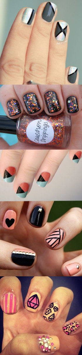 Nail Art collage - Lovalinda
