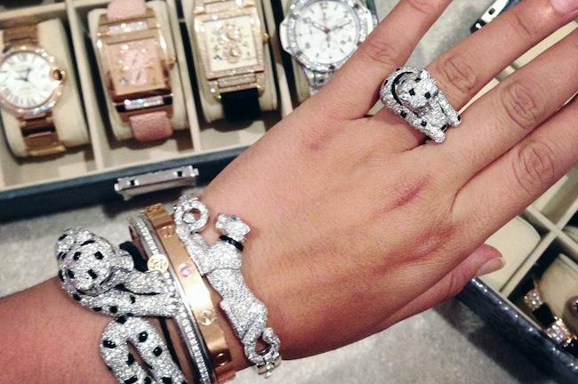 Dressing Princesse Sanaa | LovaLinda x Cartier x Bulgari x DeBeers