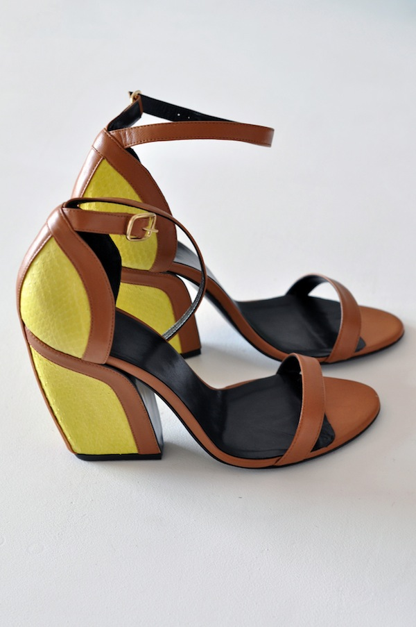 Elaphe and leather sandals by Pierre | LovaLinda