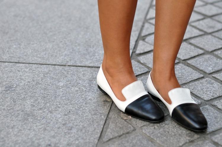La femme mais pas trop | LovaLinda x Jil Sander bi-colour loafer