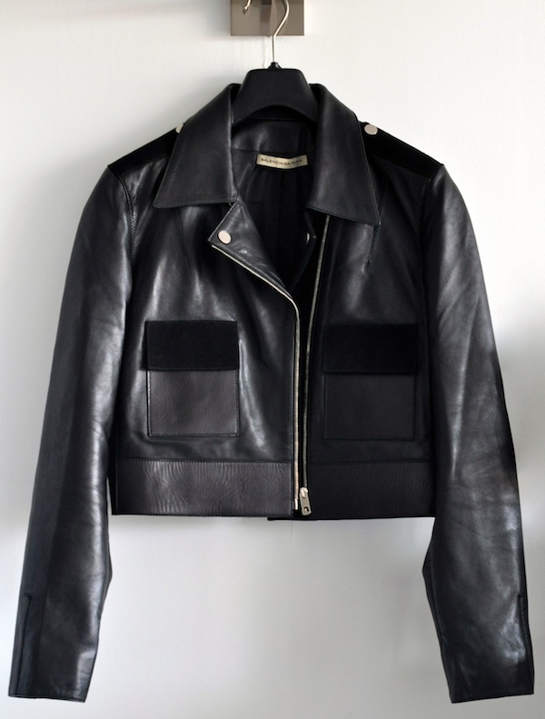 Le blouson biker | LovaLinda x Balenciaga x Leather and Suede Jacket