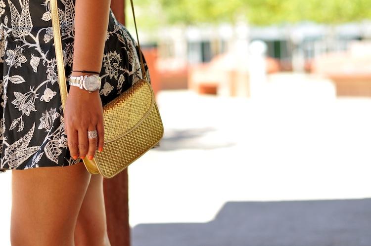 Le jeu du foulard | LovaLinda x Sonia Rykiel Vintage Bag