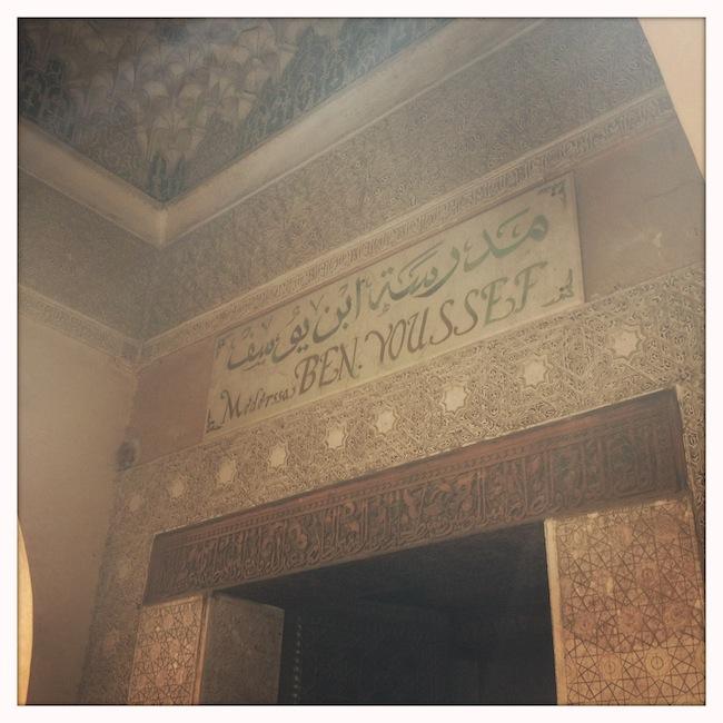 Les mille et une nuits à Marrakech | Lovalinda x Medina x Méderssa Ben Youssef