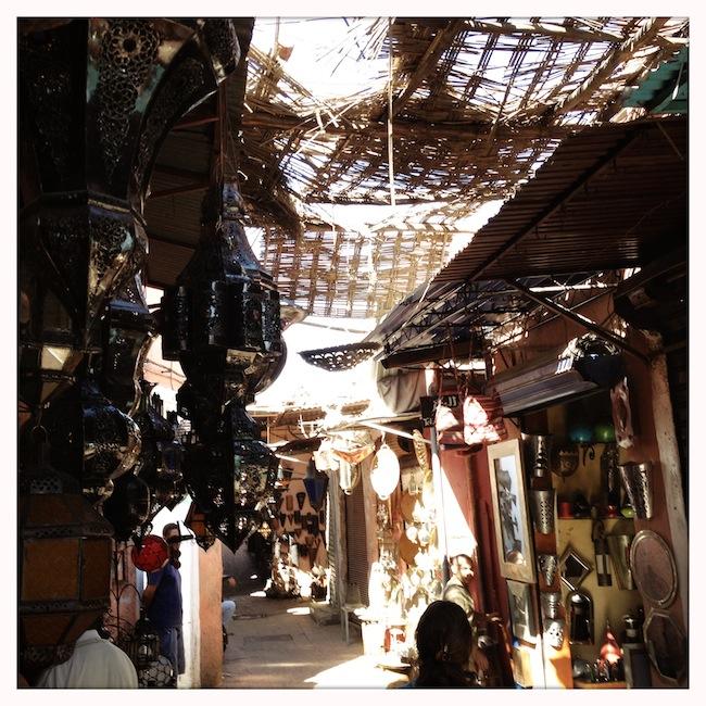 Les mille et une nuits à Marrakech | Lovalinda x Medina x Souk x Lampes