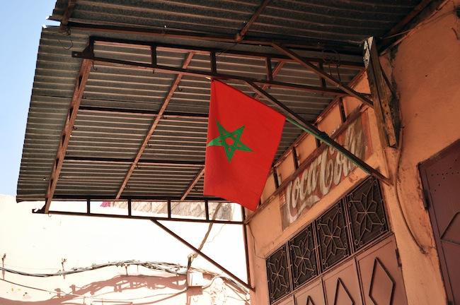 Les mille et une nuits à Marrakech | Lovalinda x Souk x Morroccan Flag
