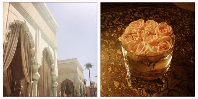 Les milles et une nuits à Marrakech | LovaLinda x Palais Namaskar x Piscine et Fleurs