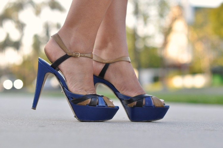 La flic de Beverly Hills | LovaLinda x Sergio Rossi Sandals