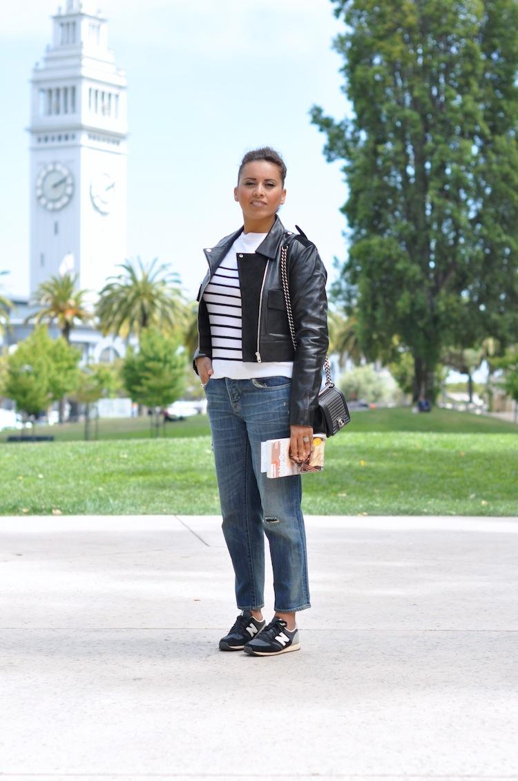 La rayure sport chic | Lovalinda x Clu x Balenciaga x Marc by Marc Jacobs x Chanel x NewBalance