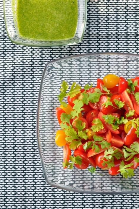 La salade de tomates et salsa verde lovalinda for Ver de la salade