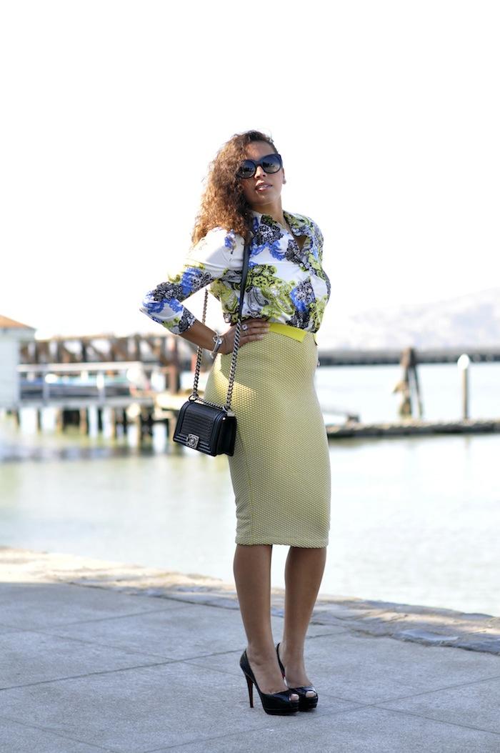La tenue deux en un | LovaLinda x MSGM x H&M x Thierry Lasry x Chanel x Christian Louboutin