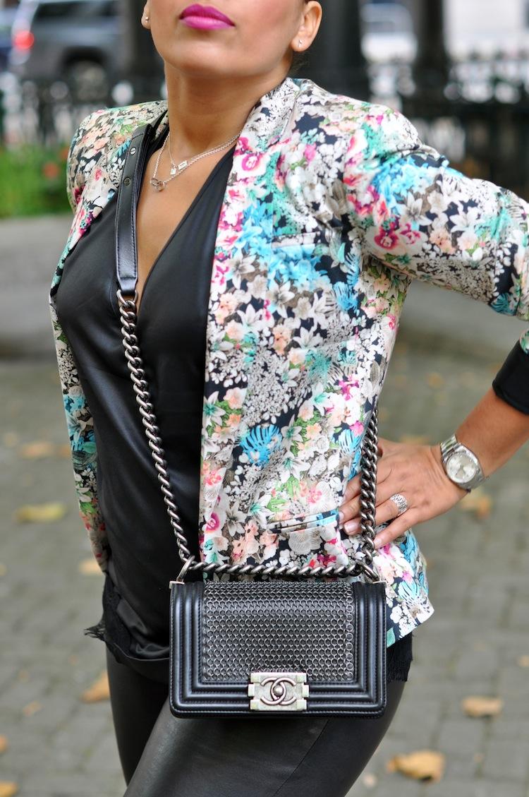 Le cuir bucolique | Lovalinda x TopShop x Elisabeth&James x Chanel