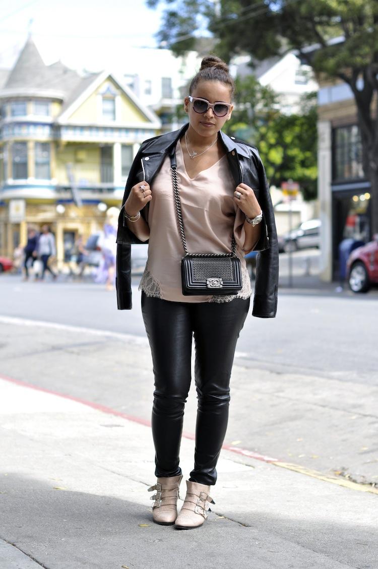 Le cuir dans la peau | LovaLinda x Balenciaga x Elisabeth & James x Chloé x Tara Jarmon x Chanel x Thierry Lasry