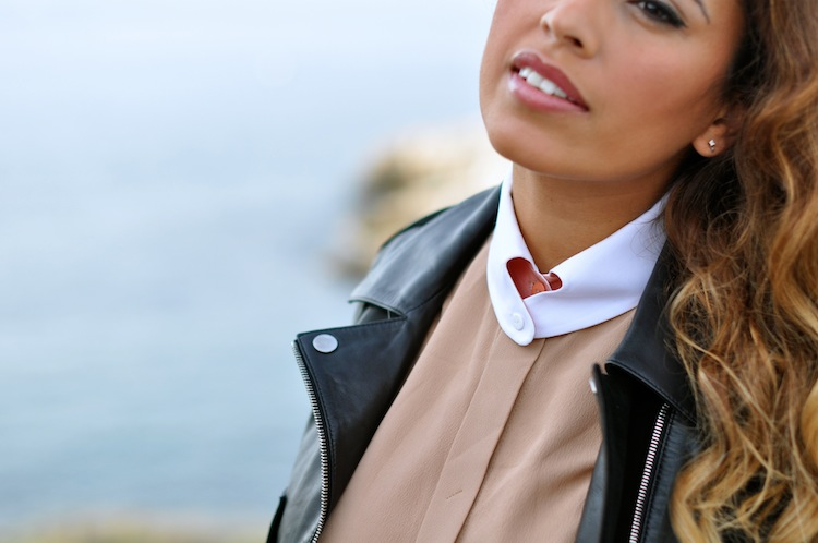 La biche oh ma biche | LovaLinda x Carven Bambi Skirt and Crepe Shirt Heart Collar x Balenciaga