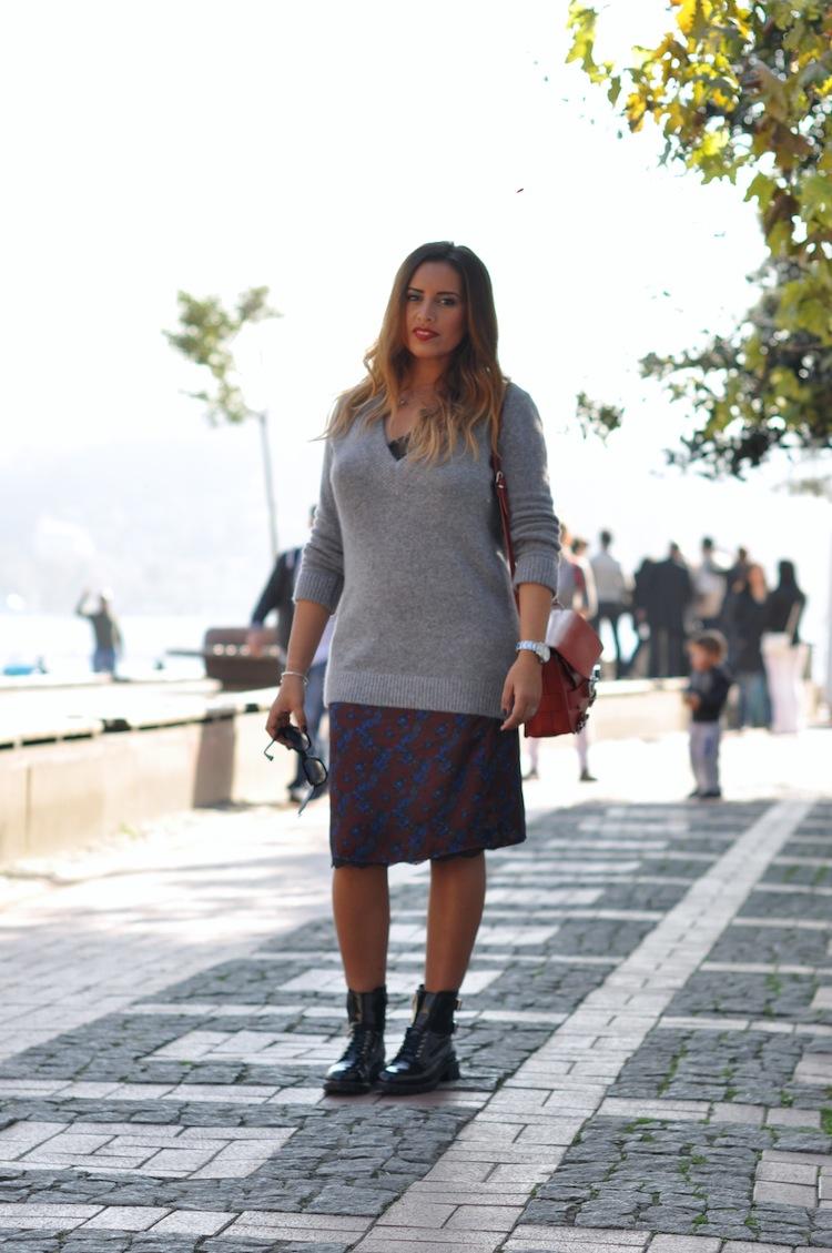 La dentelle grunge | LovaLinda x Zara Winter 2014 x Proenza Schouler PS11