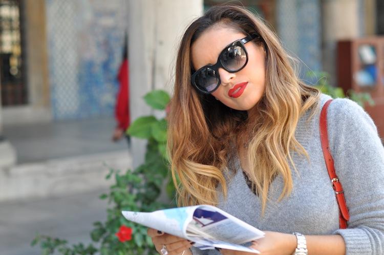 La dentelle grunge | LovaLinda x Zara x Vulgary Sunglasses Thierry Lasry