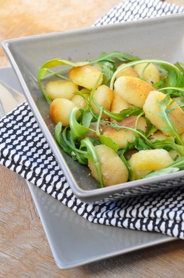 La salade tiède de gnocchis | LovaLinda x Cuisine Entrée