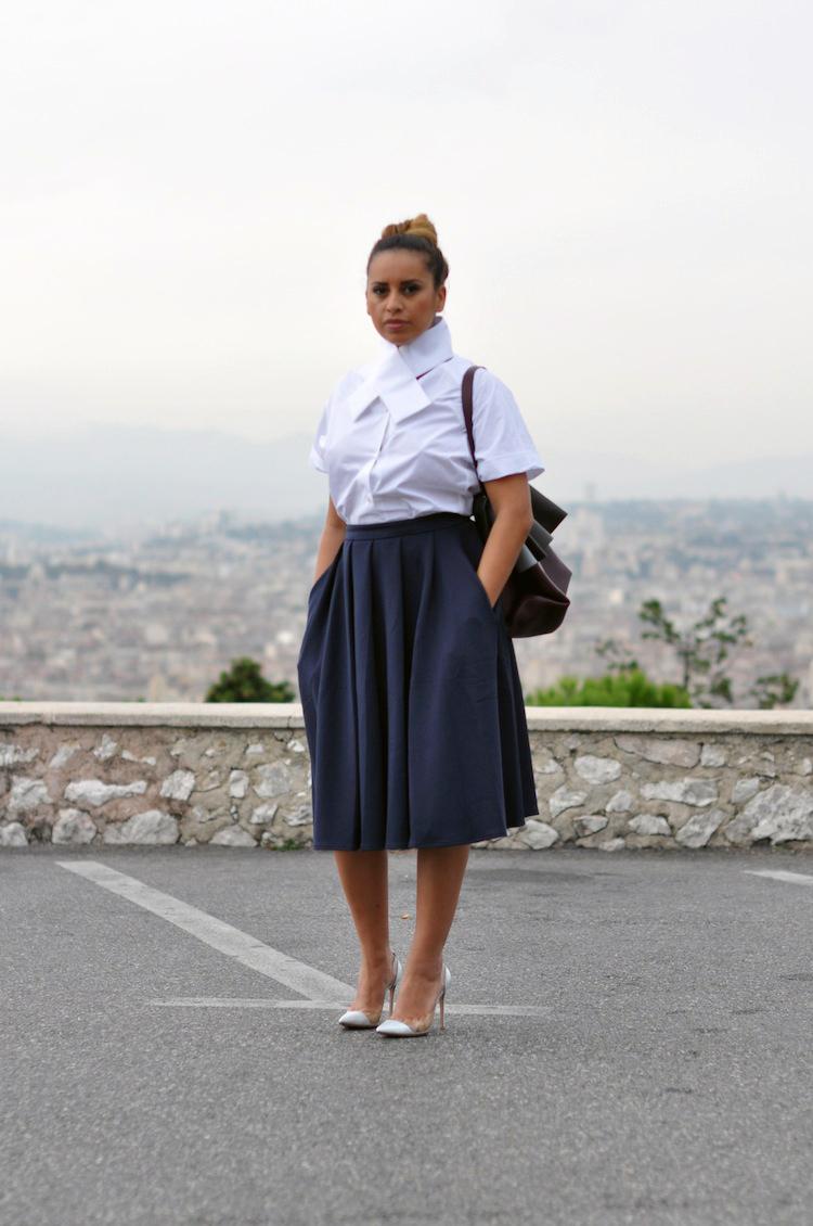 La tenue monacale | LovaLinda x Carven x Asos x Gianvito Rossi x All Soft Céline
