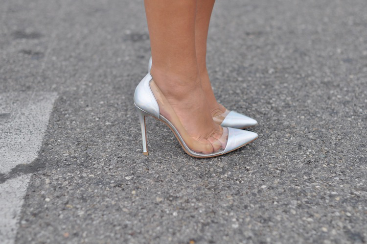 La tenue monacale | LovaLinda x Gianvito Rossi PVC Leather Pumps