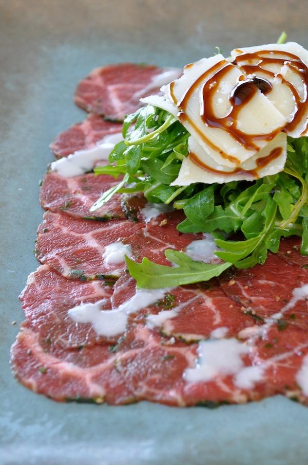Le carpaccio de bœuf | LovaLinda x Cuisine Entrée