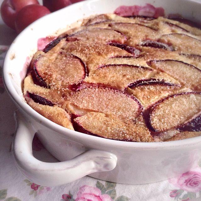 Le clafoutis aux prunes | Julia Vale M pour LovaLinda