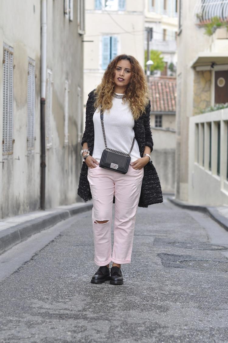 Le grunge boyish | LovaLinda x Étoile Isabel Marant x COS x Paige Jeans x Chanel Boy x Nasty Gal x Zara x Dr Martens