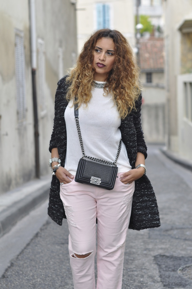 Le grunge boyish | LovaLinda x Étoile Isabel Marant x COS x Paige Jeans x Zara x Chanel Boy