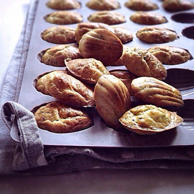 Les petites madeleines apéritives | LovaLinda x Julia Vale M