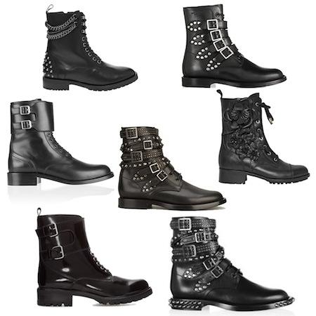 Les rangers ou pas les rangers | LovaLinda x Collage Combat Boots
