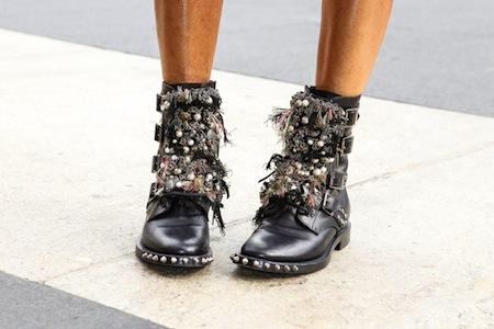 Les rangers ou pas les rangers | LovaLinda x Studded Boots Saint Laurent Vogue Picture