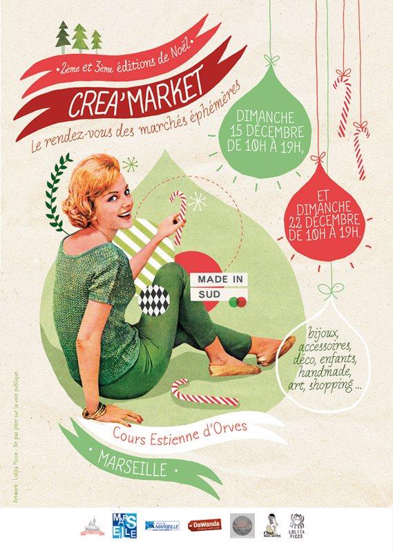 Créa Market, le rendez-vous des marchés éphémères de Noël | LovaLinda