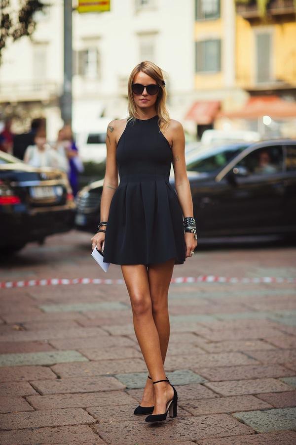 La petite robe Noire | LovaLinda x Stockholm StreetStyle