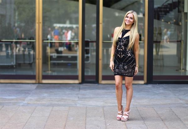 La petite robe noire | LovaLinda x AngelFoodStyle x Herve-side