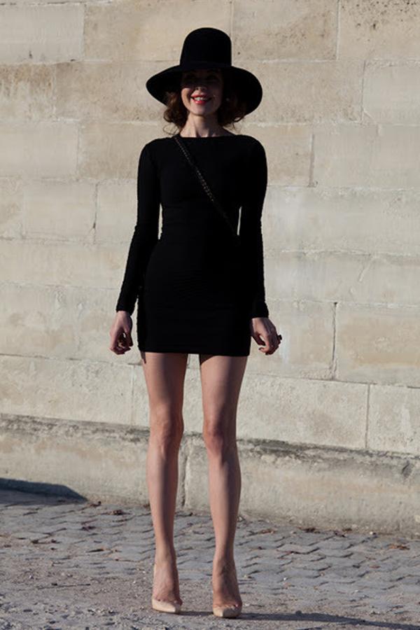 Style petite robe noire