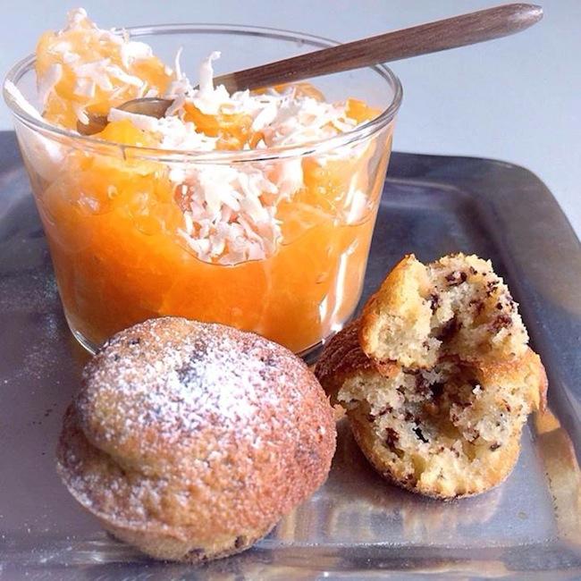 La verrine aux agrumes et ses muffins par Julia Vale M | LovaLinda
