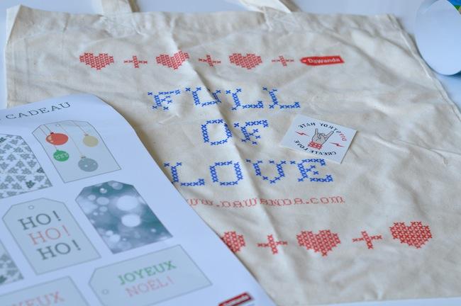 Le Christmas Créa'Market | LovaLinda x Cadeau Bag et Affiche