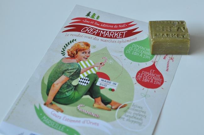 Le Christmas Créa'Market | LovaLinda x Cadeau Savonnerie de Marseille