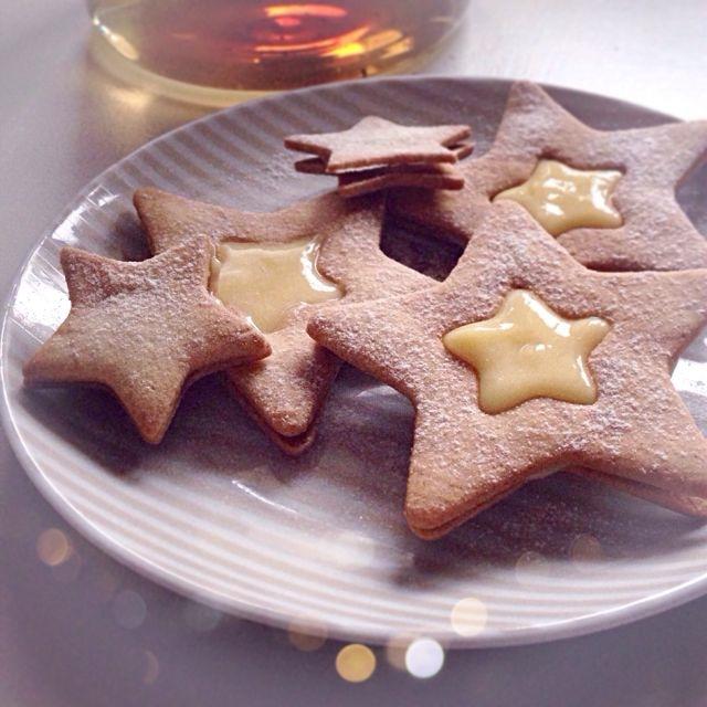 Les étoiles au lemon curd par Julia Vale Marchier | LovaLinda