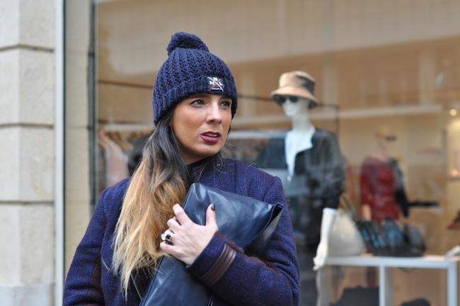L'hiver enfile son short | DorisKnowsFashion x StreetStyle x Veste Caro By Zoé x BNL Bonnet