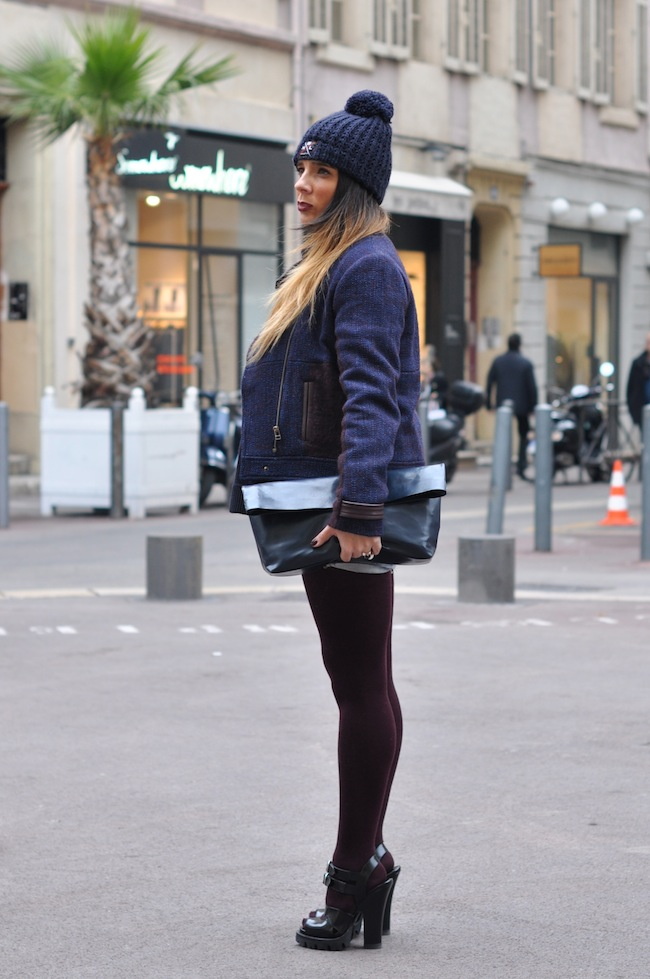 L'hiver enfile son short | DorisKnowsFashion x StreetStyle x Veste Caro By Zoé
