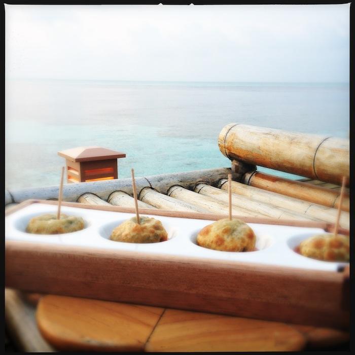 L'island Hideaway | Maldives | LovaLinda x Food x Restaurant x Apéritif x Mignardises