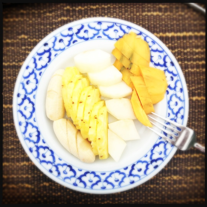 L'island Hideaway | Maldives | LovaLinda x Food x Restaurant x Breakfast Fresh Fruits